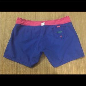 Board shorts reversible blue and pink Crazy Shirt